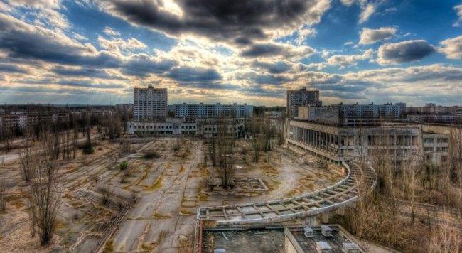 Kota Paling berbahaya Chernobyl Ukraina