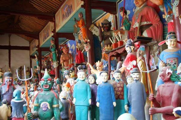 Kuil Dongyue Hall Tiongkok