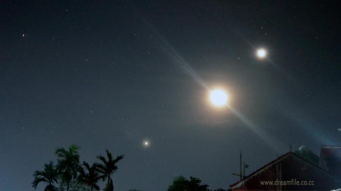 Konjungsi Venus, Jupiter dan Mars