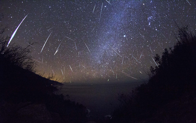 Puncak Hujan Meteor Geminids