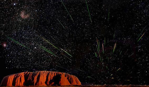 Puncak Hujan Meteor Leonids