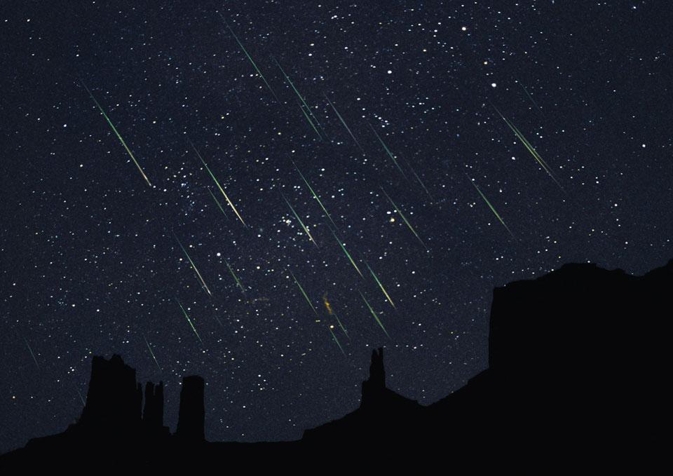 Puncak Hujan Meteor Perseids