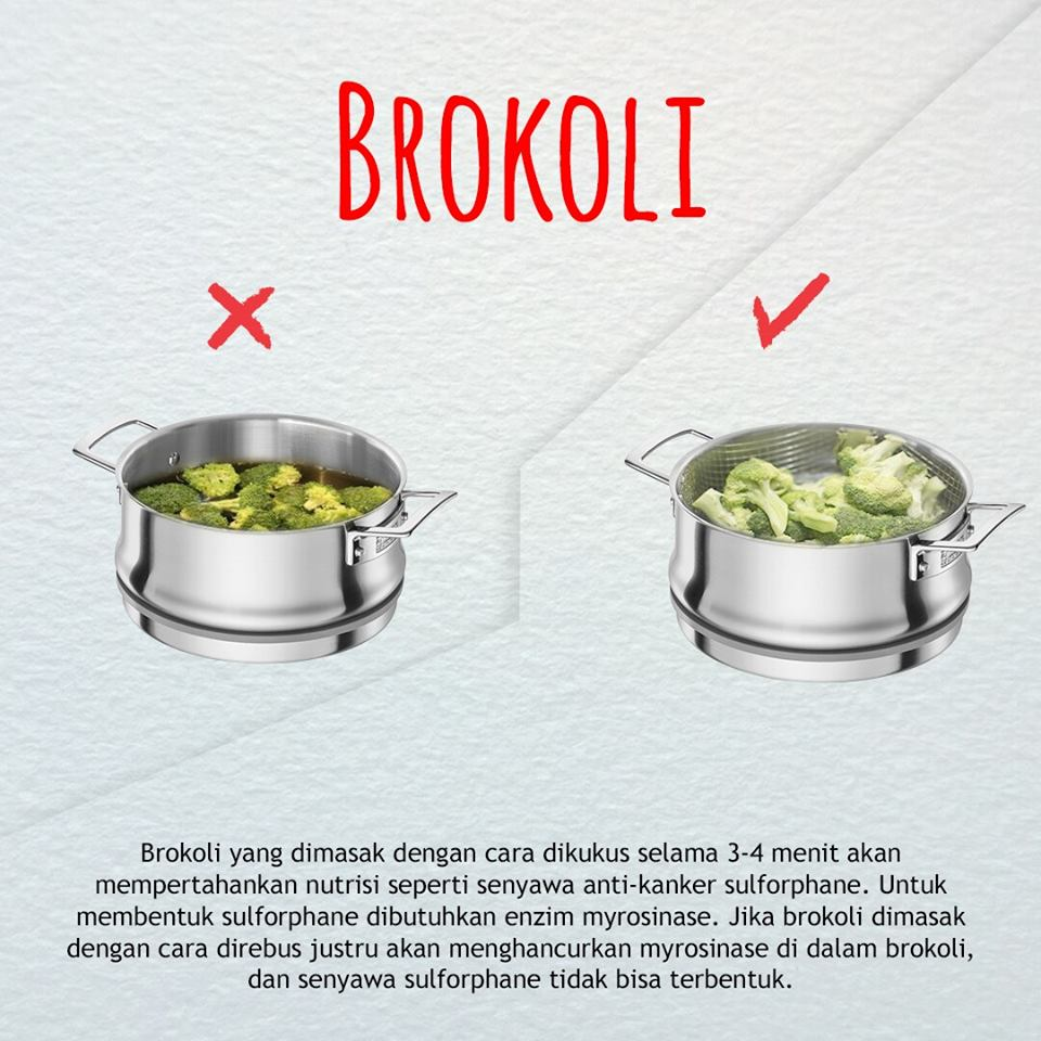 cara benar mengolah dan memasak brokoli