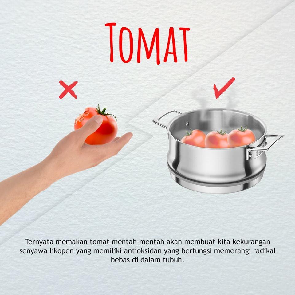 cara benar mengolah tomat