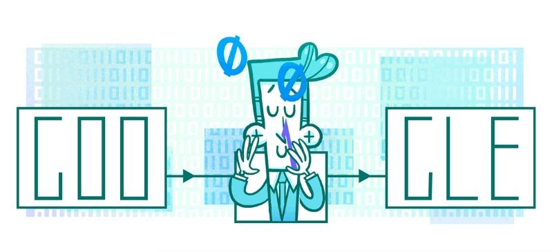 Claude Shannon google doodle