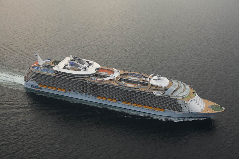 Allure Of The Seas Kapal Pesiar Terbesar Didunia