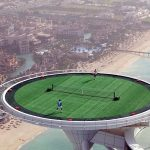 lapangan tenis ini ada di dubai