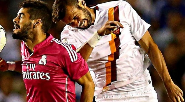 AS Roma Vs Real Madrid 16 Besar